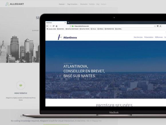 Atlantinova Personnalisation thème Wordpress