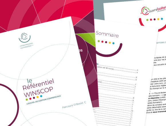 Conception d'une charte interne pour Chemise et Documents