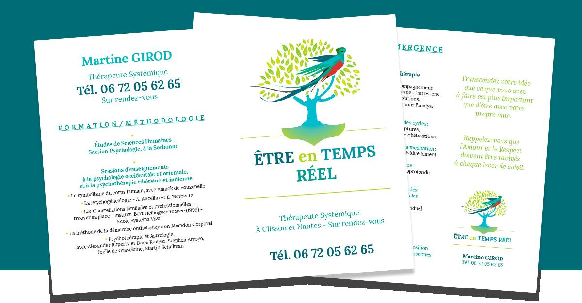 Dépliant Recto / Verso