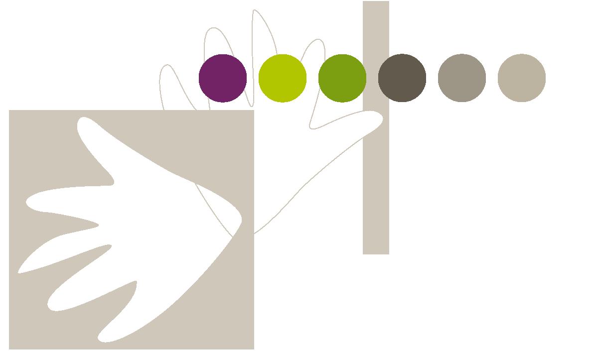 Elements de la charte graphique d'Oser Forêt Vivante