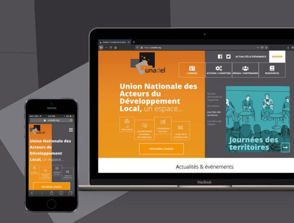 Présentation du nouveau site responsive sur smartphone et ordinateuror
